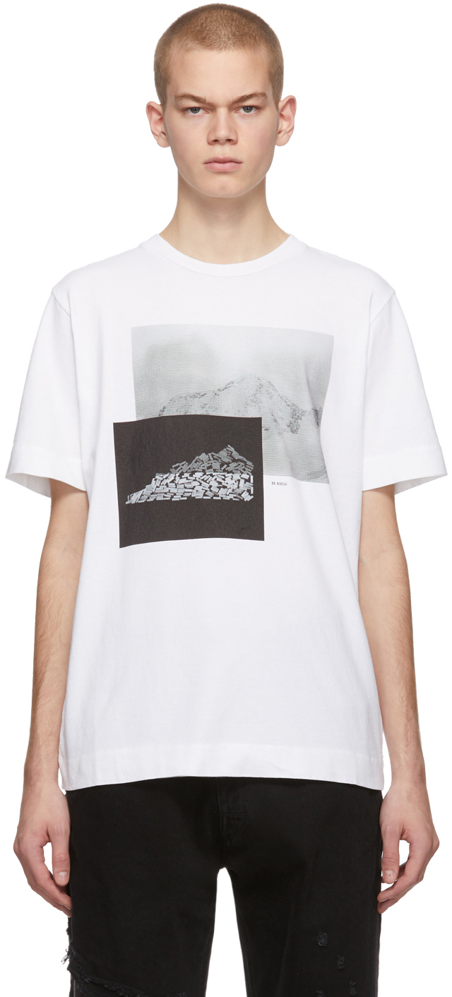 1017 Alyx 9sm T-shirts White Ex Nihilo Point T-Shirt