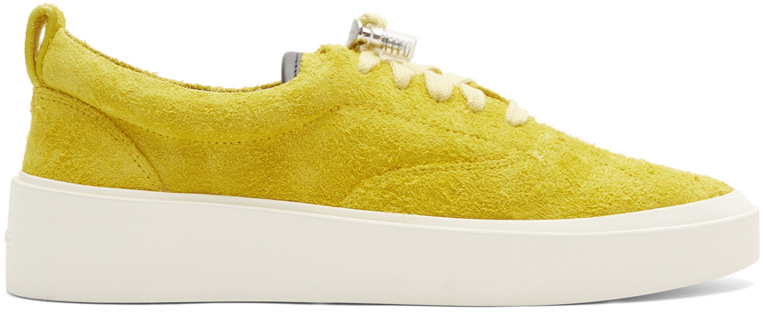 Fear Of God Sneakers Yellow Suede 101 Lace-Up Sneakers