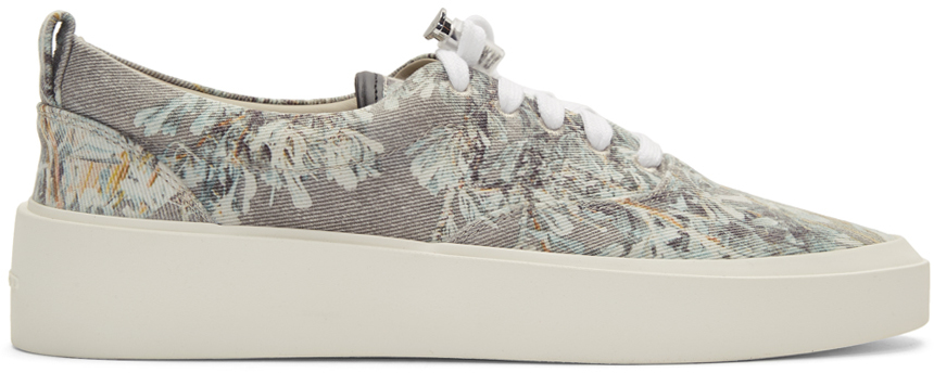 Fear Of God Sneakers Grey 101 Lace-Up Sneakers