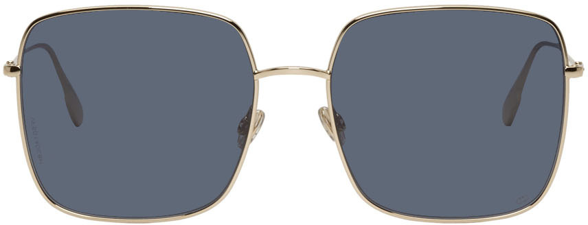 Dior Sunglasses Gold & Blue DiorStellaire1 Sunglasses