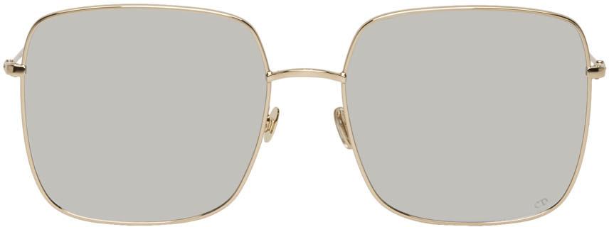 Dior Sunglasses Gold & Silver DiorStellaire1 Sunglasses