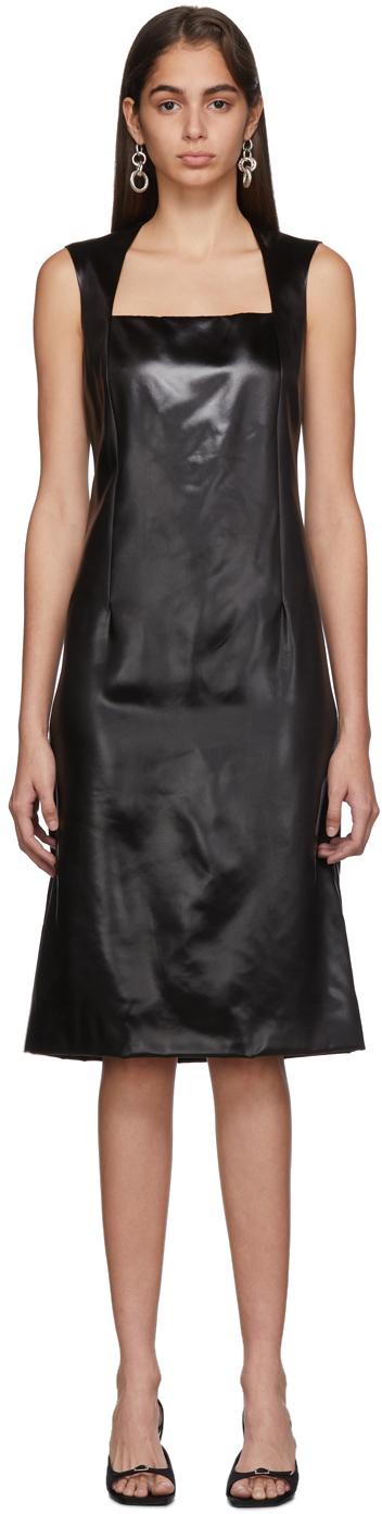 Bottega Veneta Dress Black Satin Dress