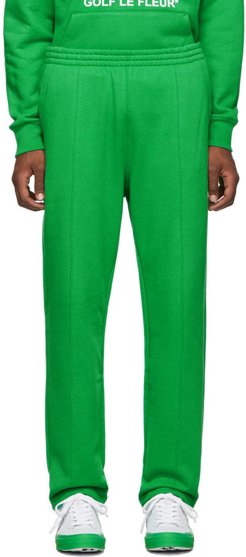 Converse Pants Green Golf Le Fleur* Edition Terry Lounge Pants