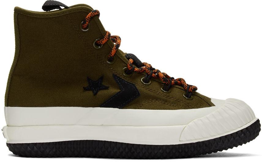 Converse Sneakers Khaki Bosey MC High-Top Sneakers