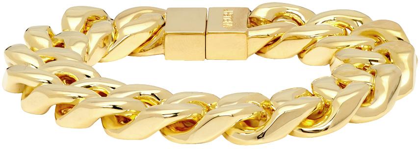 Ambush Accessories Gold Classic Chain 7 Bracelet