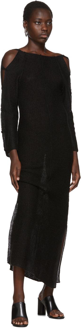 Eckhaus Latta Dresses Black Plunge Dress