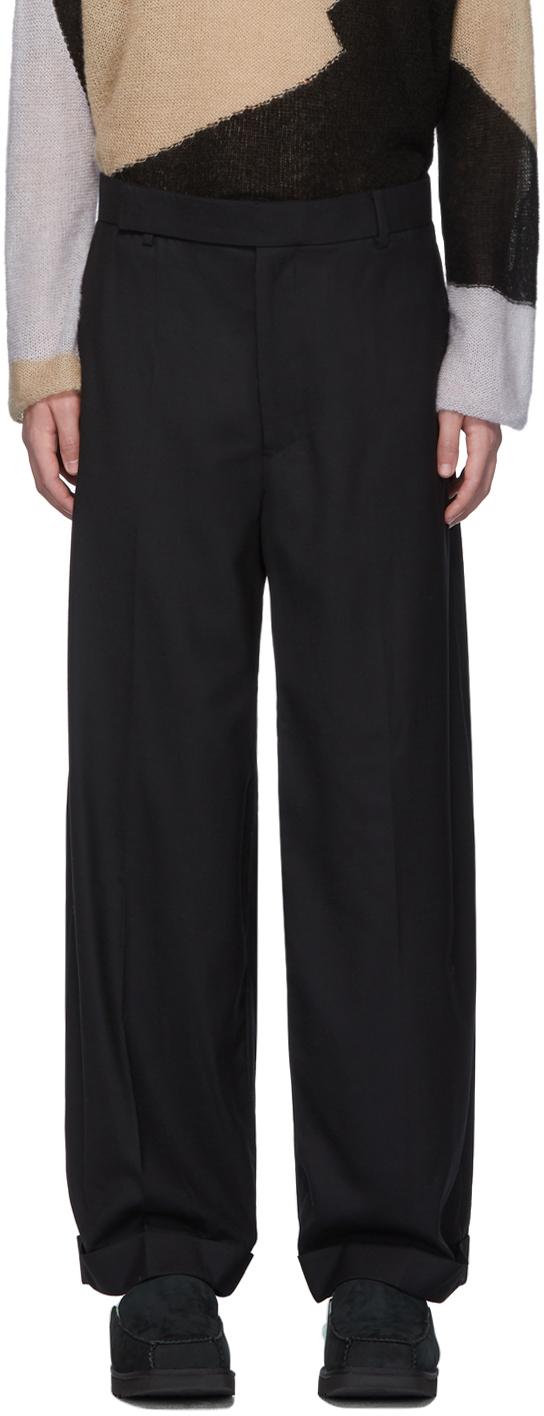 Eckhaus Latta Pants Black Sway Trousers