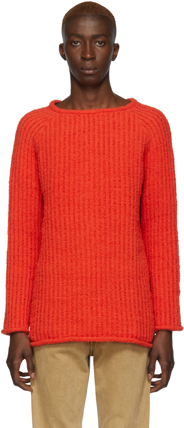 Eckhaus Latta Sweaters Red Referee Sweater