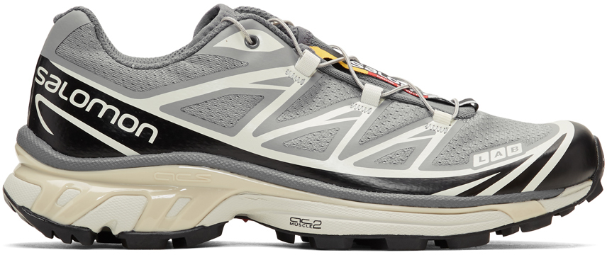 Salomon Sneakers Grey Limited Edition S/LAB XT-6 Softground LT ADV Sneakers
