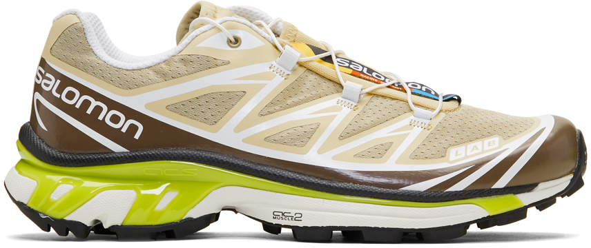 Salomon Sneakers Beige Limited Edition S/LAB XT-6 Softground LT ADV Sneakers