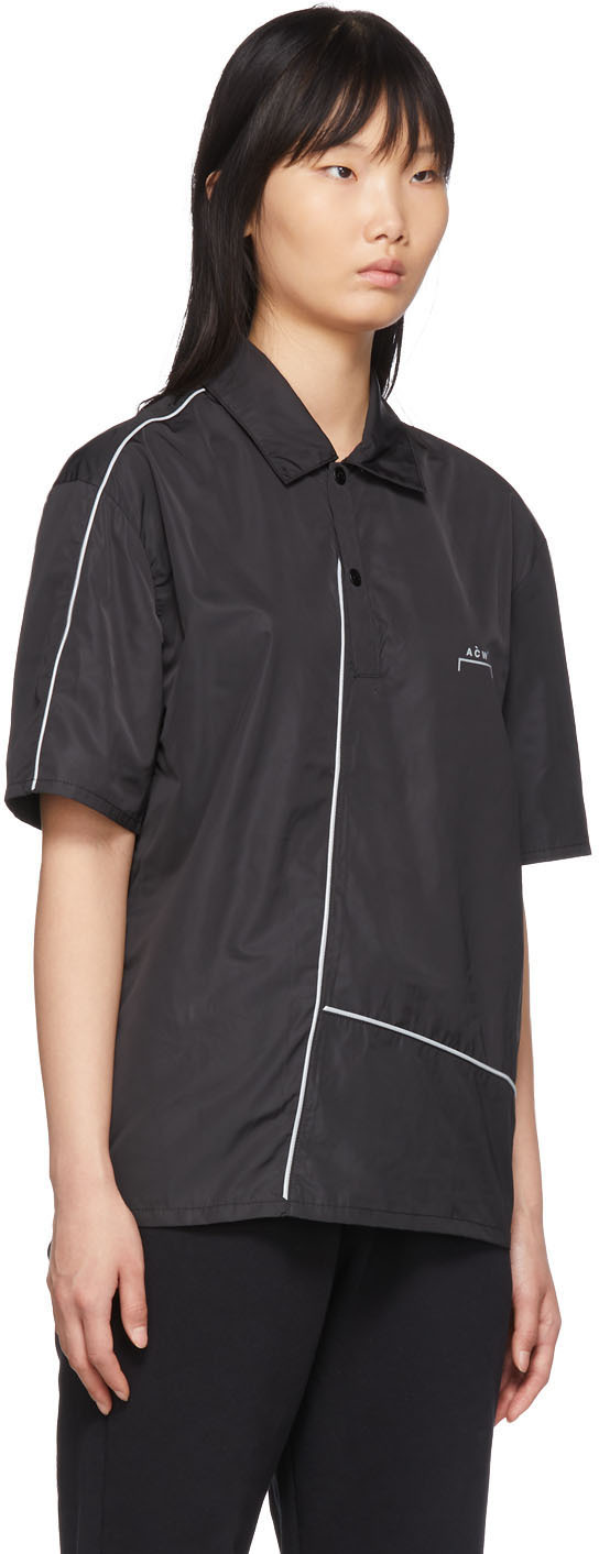 A-Cold-Wall* Accessories Black Piping Polo