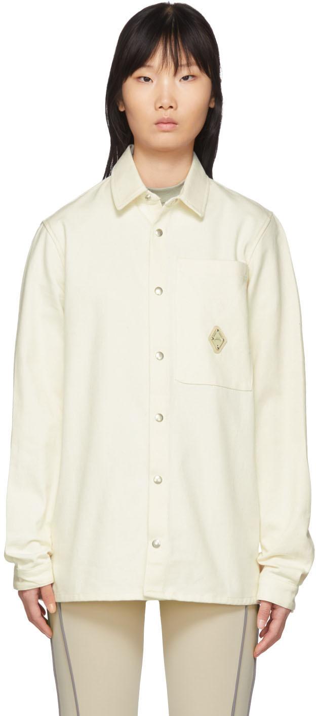 Off White Straight Overshirt