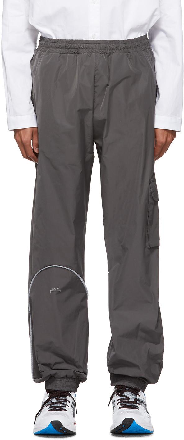 A-Cold-Wall* Pants Grey Piping Pocket Lounge Pants