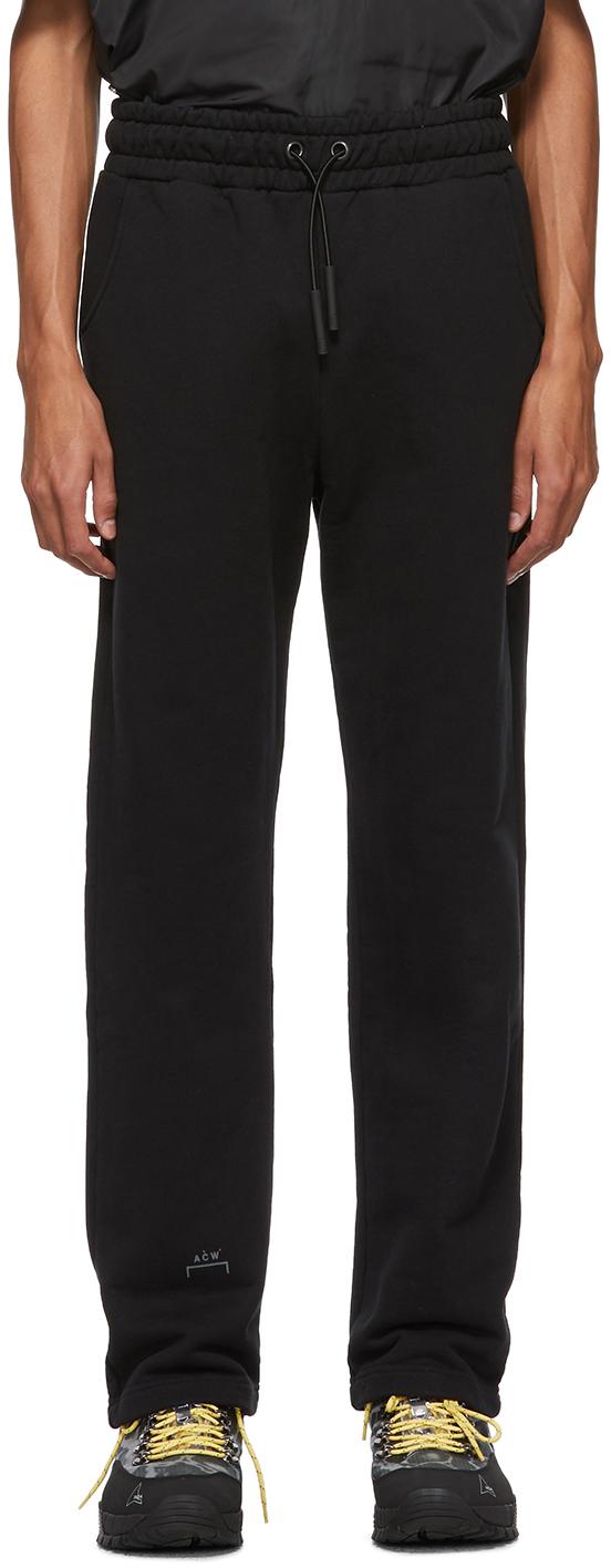 A-Cold-Wall* Pants Black Jersey Core Lounge Pants