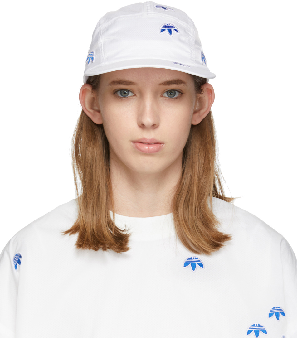 Adidas Originals By Alexander Wang Accessories White AW Cap