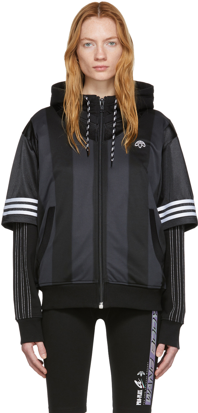 Adidas Originals By Alexander Wang Accessories Black Wangbody Hoodie
