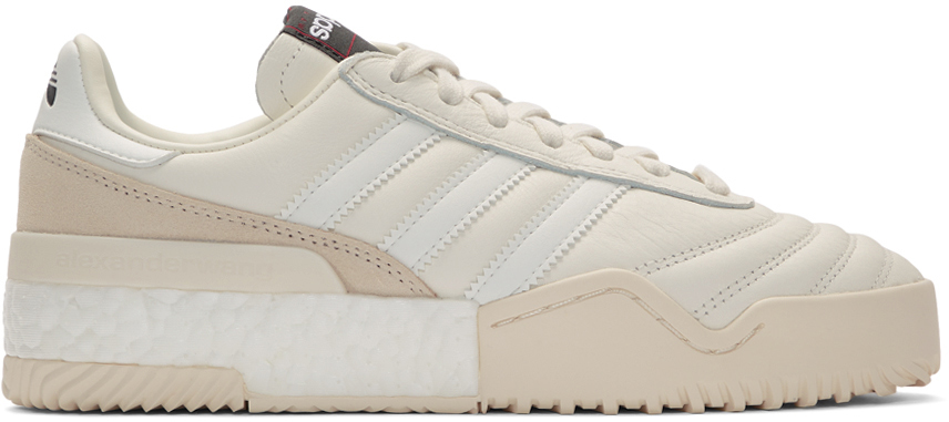 Adidas Originals By Alexander Wang Sneakers Off-White B-Ball Soccer Sneakers
