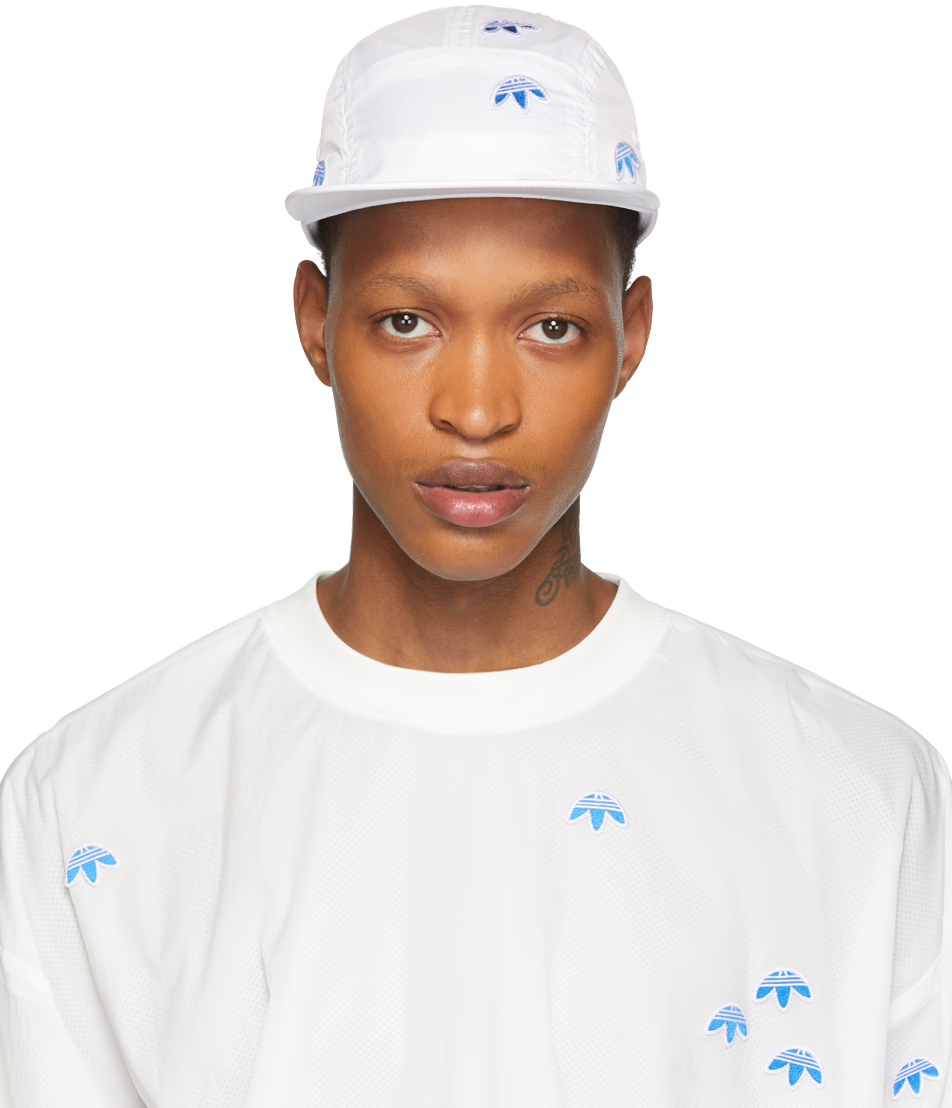 Adidas Originals By Alexander Wang Flats White Logo Cap