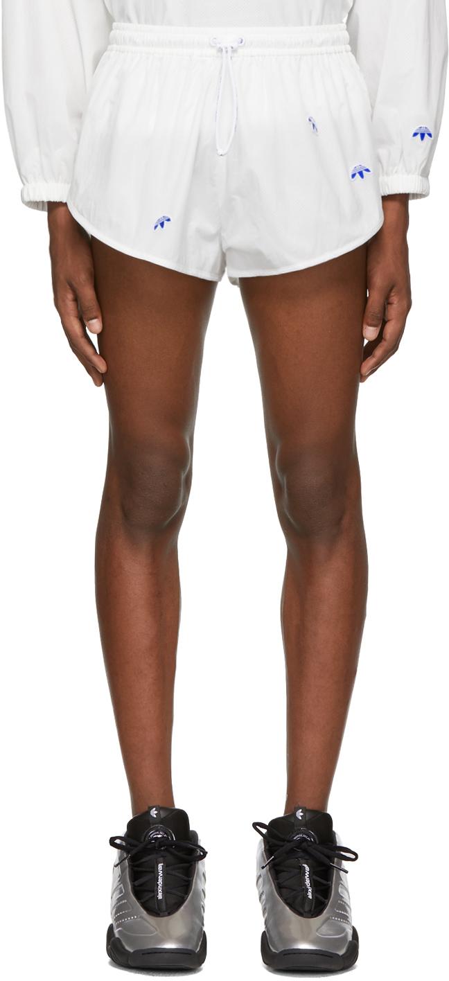 Adidas Originals By Alexander Wang Shorts White AW Shorts