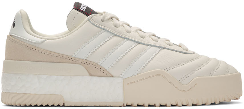 Adidas Originals By Alexander Wang Sneakers White B-Ball Soccer Sneakers