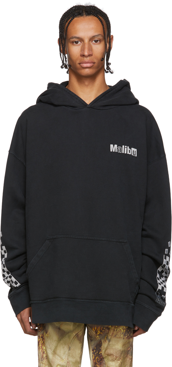 Rhude Accessories Black 'Malibu' Hoodie
