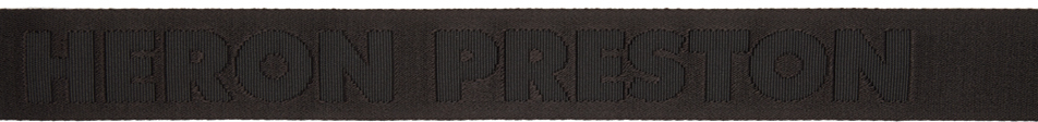 Heron Preston Belt Black KK Tape Belt