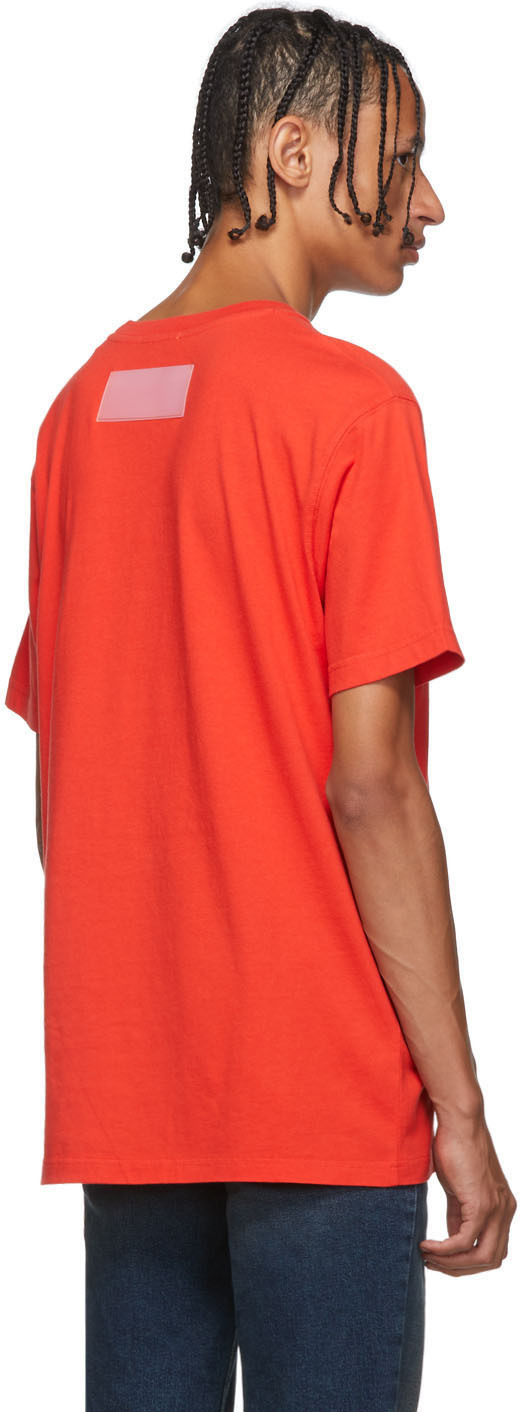 Heron Preston T-shirts Red Photo T-Shirt