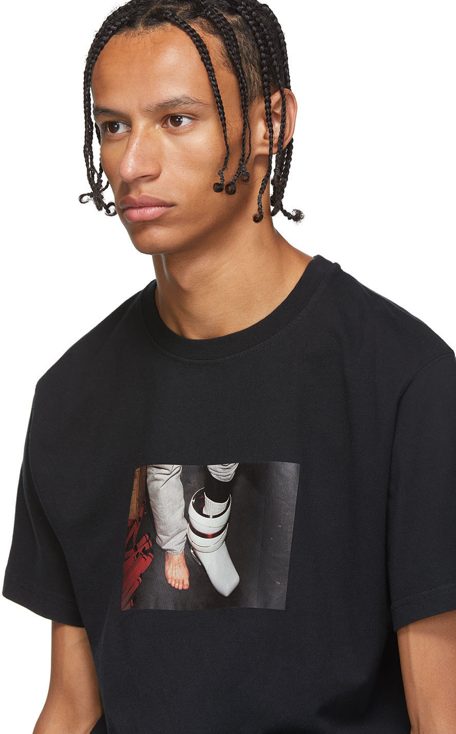 Heron Preston T-shirts Black Photo T-Shirt
