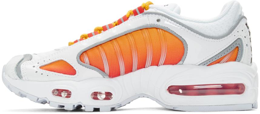 Nike Sneakers White & Orange Air Max Tailwind IV NRG Sneakers