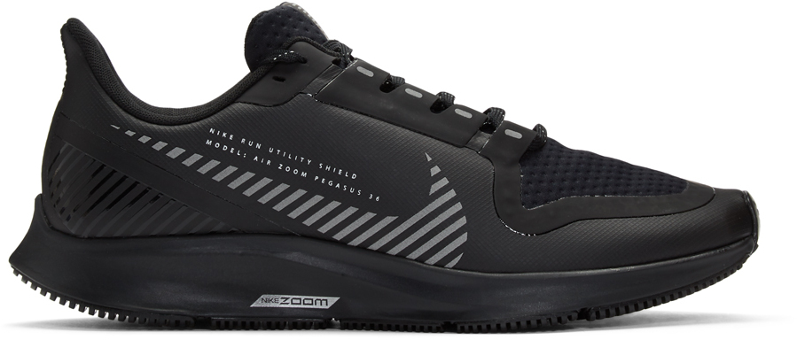 Nike Sneakers Black Air Zoom Pegasus 36 Shield Sneakers