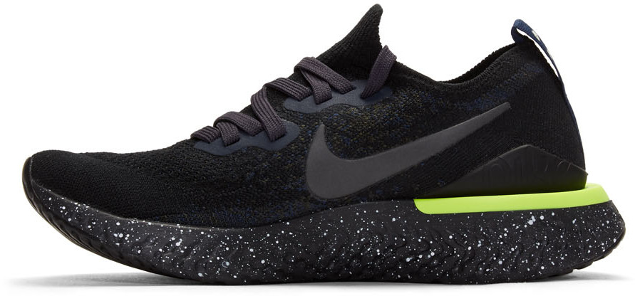 Nike Knits Navy Epic React Flyknit 2 Sneakers