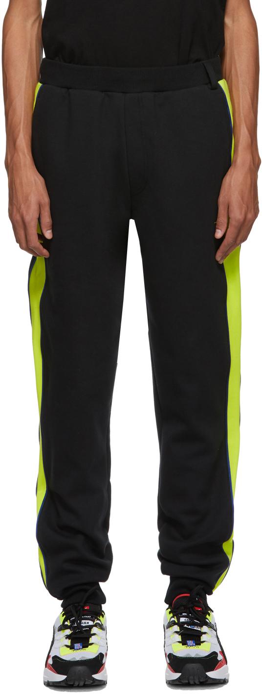 Ader Error Pants Black Puma Edition T7 Lounge Pants