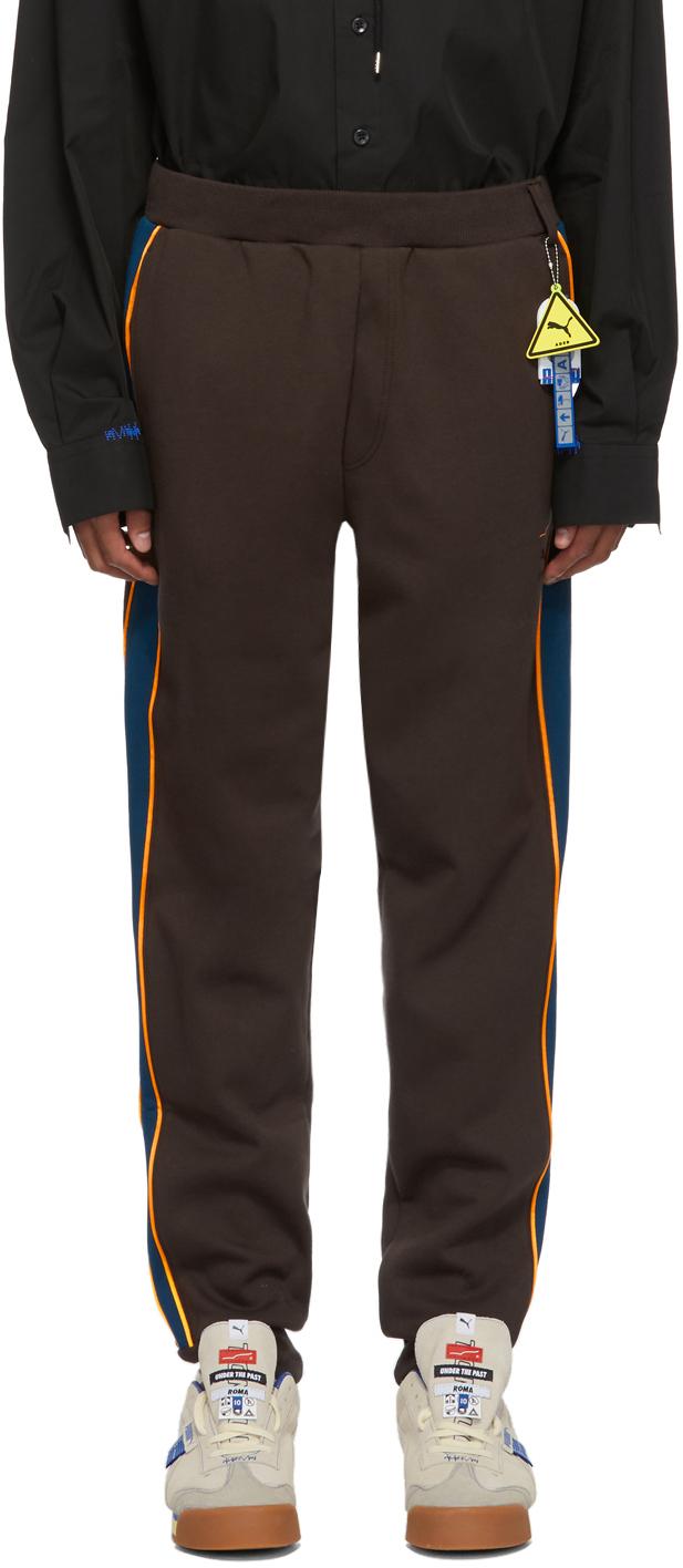 Ader Error Pants Brown Puma Edition T7 Lounge Pants
