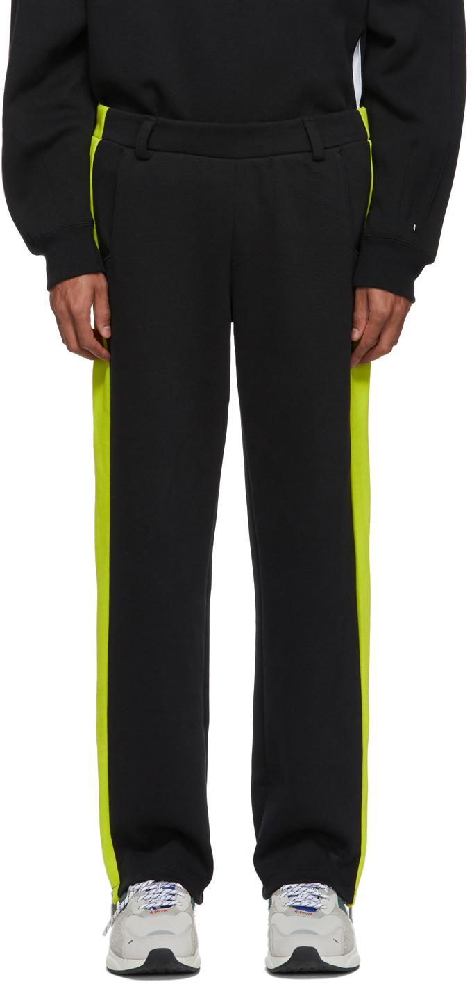 Ader Error Pants Black Puma Edition T7 Overlay Lounge Pants