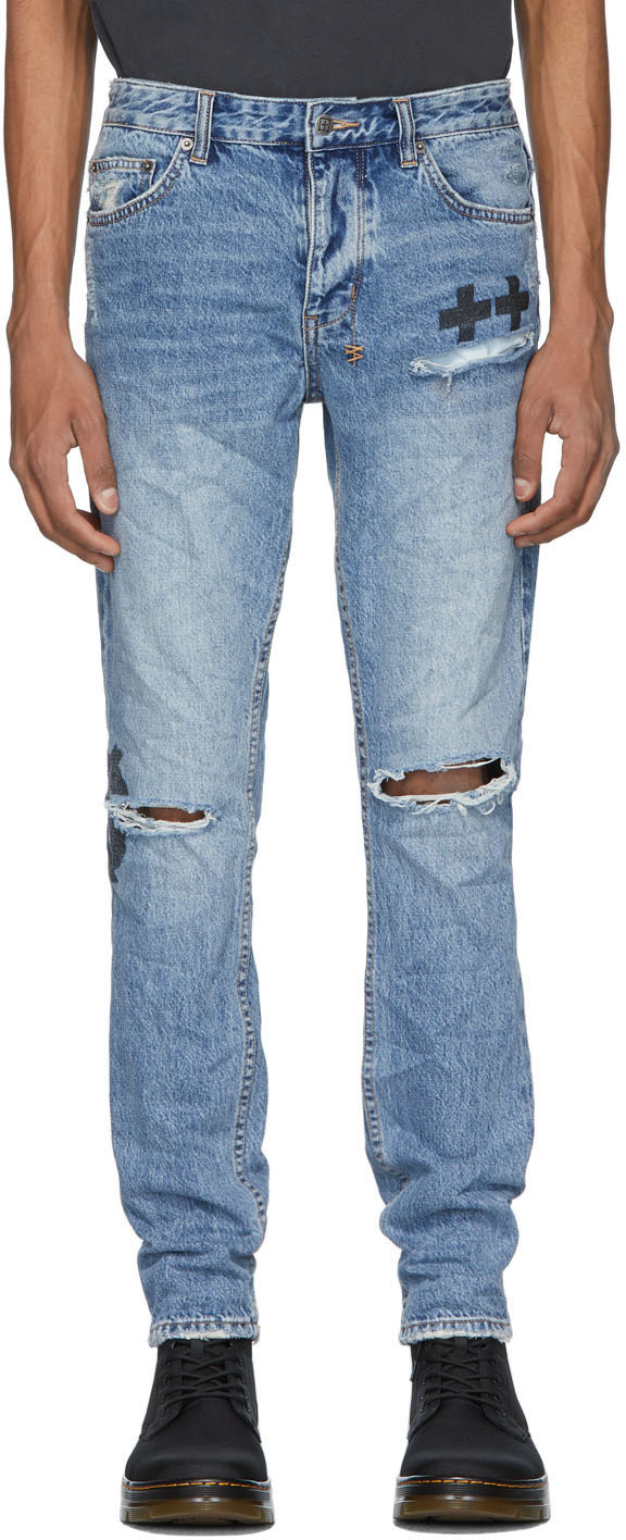 Ksubi Blue Chitch Jinx Pay Up Jeans