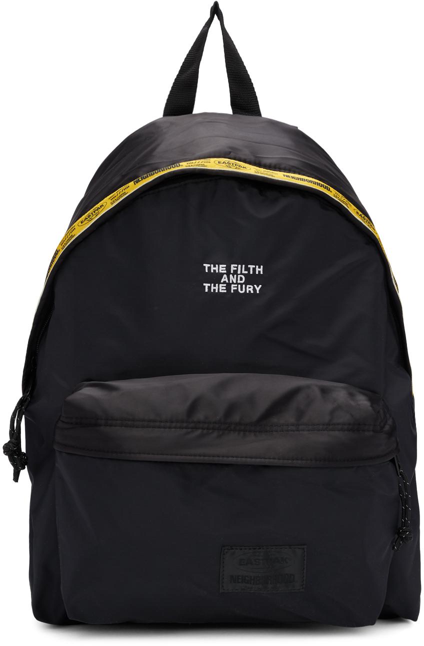 Eastpak Backpacks Black Neighbourhood Edition Padded Pak'r Backpack