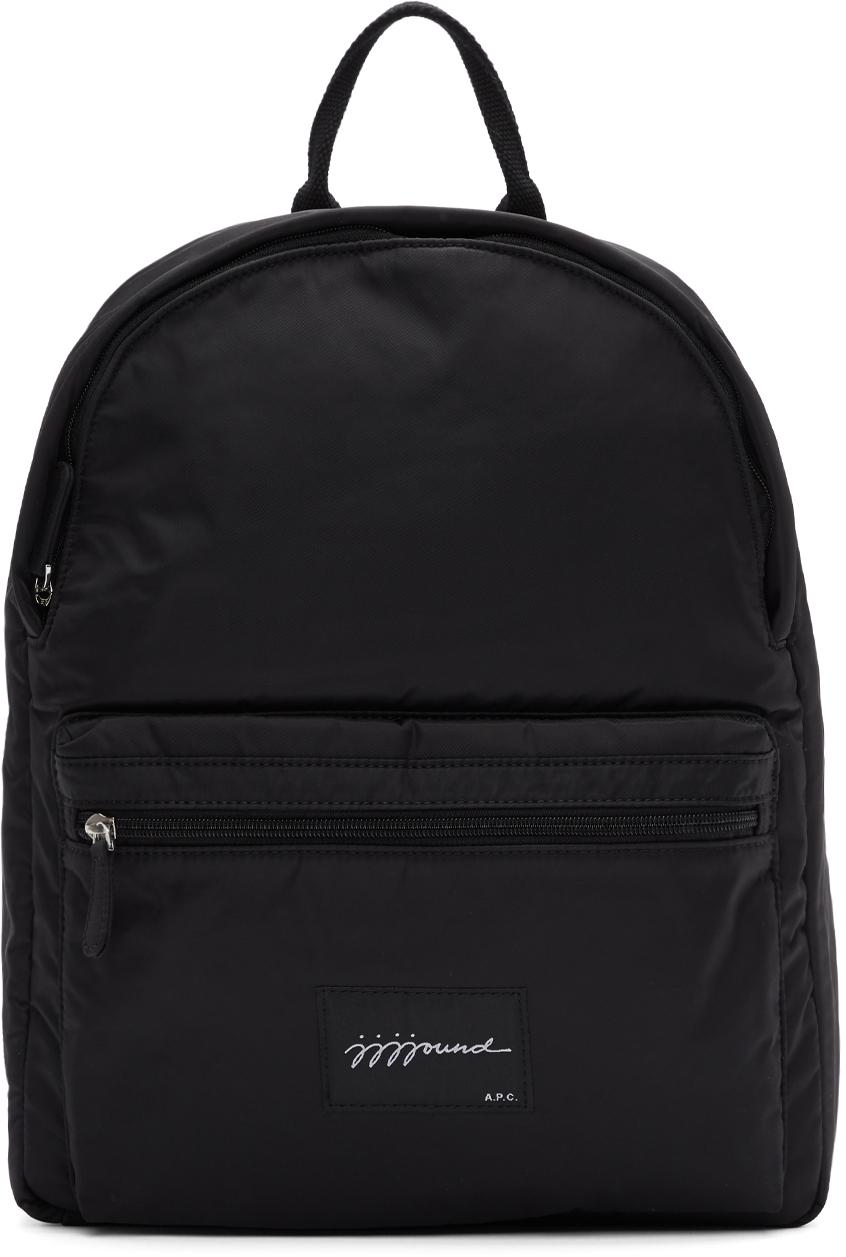 A.p.c. Backpacks Black JJJJound Edition Backpack