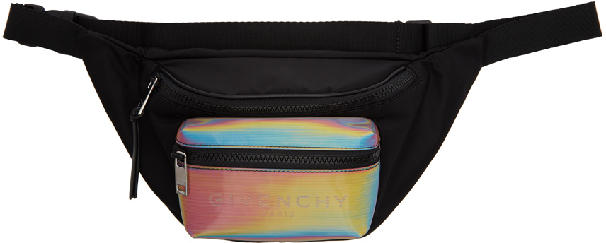 Givenchy Belt Black Light 3 Rainbow Belt Bag