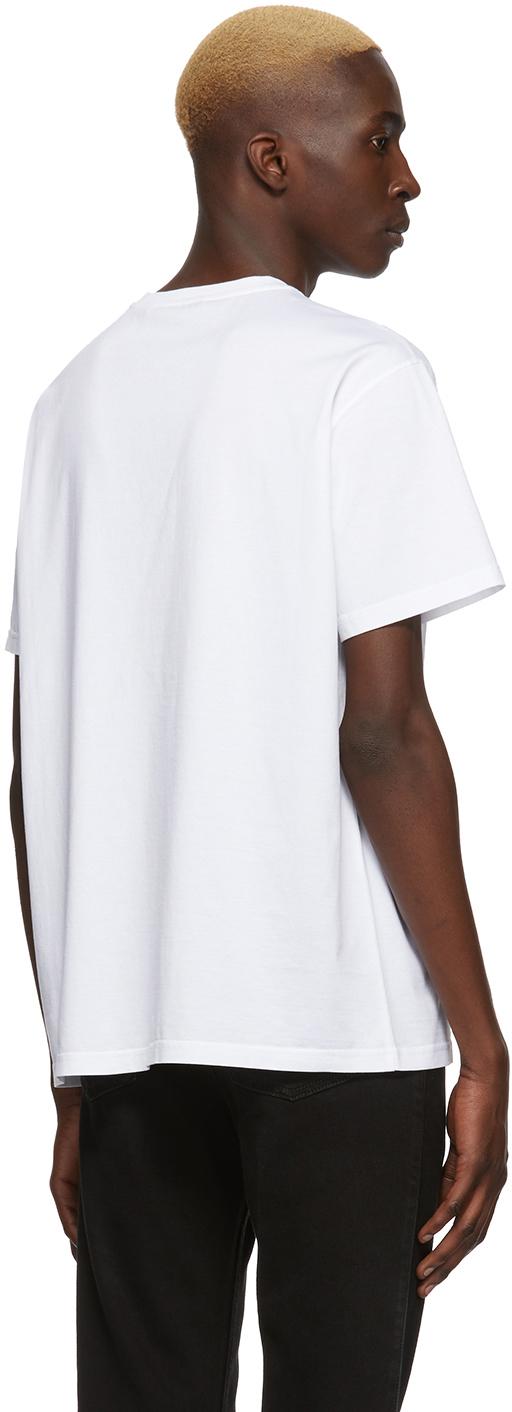 Givenchy T-shirts White Signature Logo T-Shirt