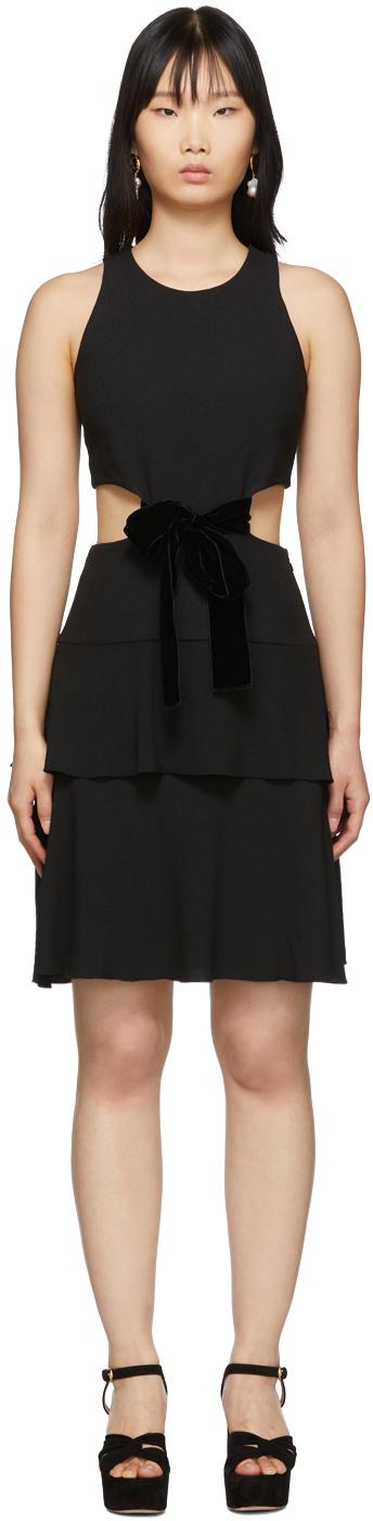 Proenza Schouler Dress Black Cut-Out Dress