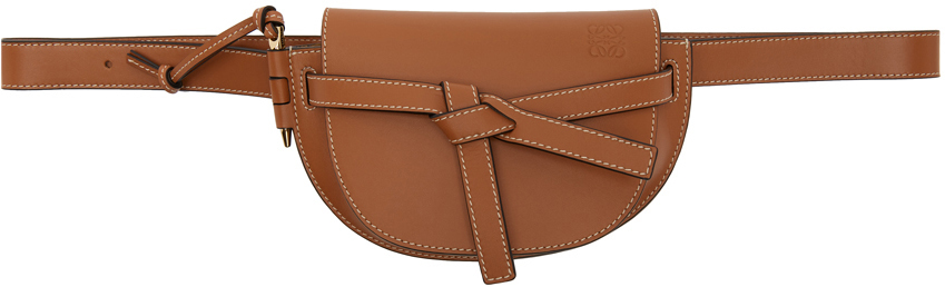 Loewe Accessories Tan Mini Gate Bumbag