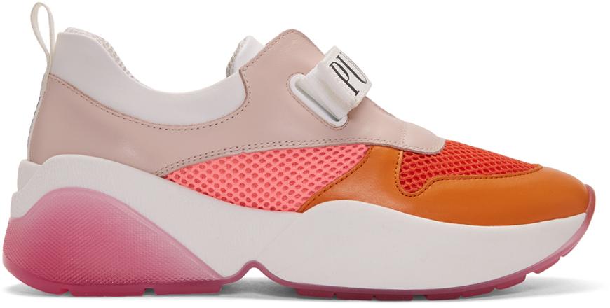 Emilio Pucci Sneakers Orange Positano Sneakers