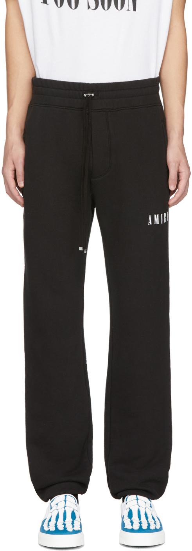 Amiri Pants Black Dagger Lounge Pants