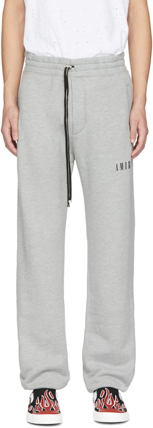 Amiri Pants Grey Dagger Lounge Pants
