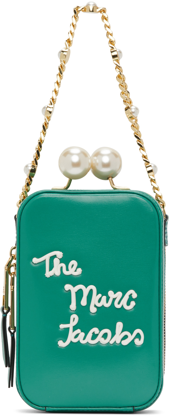Marc Jacobs Green 'The Icing Vanity' Bag