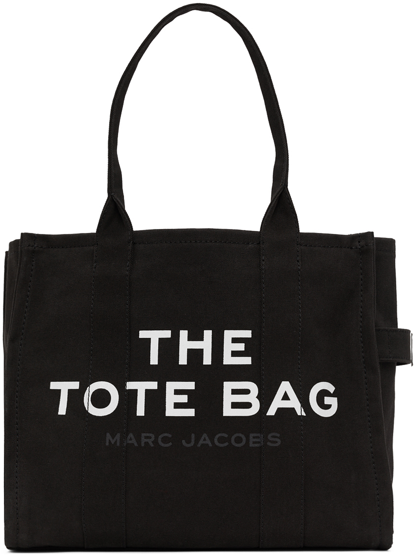 Marc Jacobs Black 'The Traveler' Tote