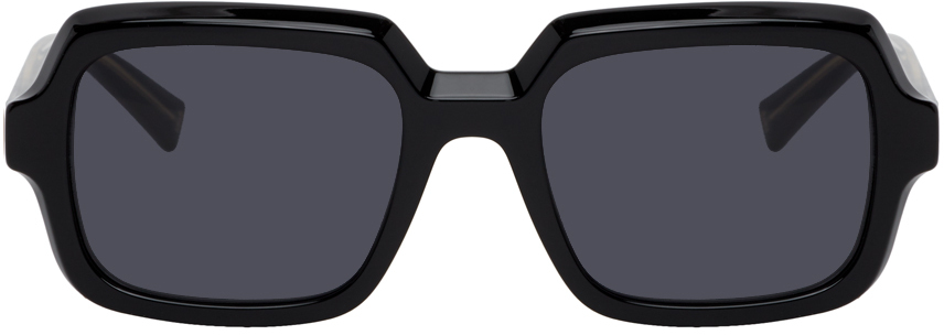 Givenchy Black Rectangular Sunglasses