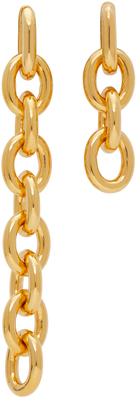 Numbering Gold #841 Earrings
