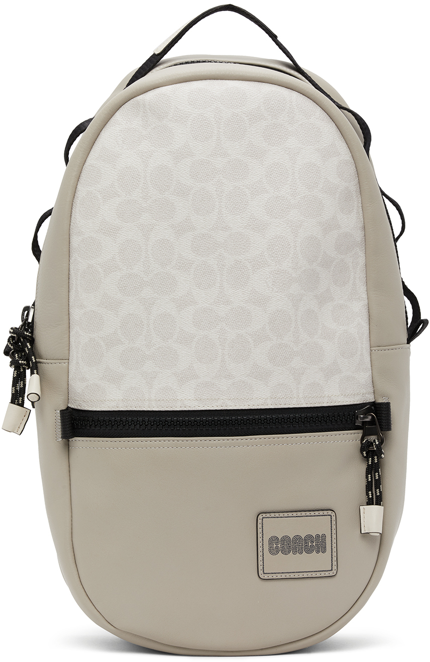 Coach 1941 Off-White Pacer Backpack