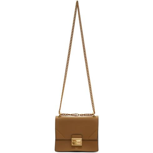 Fendi Brown Small Kan U Bag